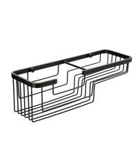 Etagère Aluminium Black rectangulaire 37x12x11,5 cm - TATAY