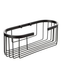 Etagère Aluminium Black ovale 30x12x11,5 cm - TATAY