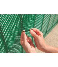50 colliers de fixation gris longueur 14cm gris 0,14m