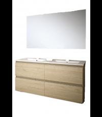 Ensemble modulaire Inglet 120 cm en bambou - EGORE