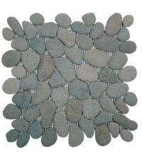Mosaïque rocamar vert foncé - 30 x 30 cm