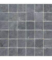 Mosaïque calcuta noire - 30 x 30 cm