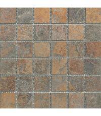 Mosaïque ardoise - 30 x 30 cm