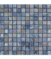 Mosaïque verre - 30 x 30  cm