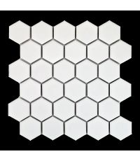 Mosaïque Hexagono Blanco 27x28cm - DISTRIMAT