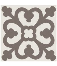 Carrelage décoratif grès emaillé gris antigue - 20 x 20 cm