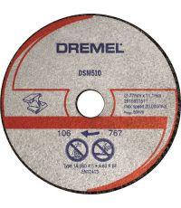 Lot de 3 Disques DSM510 pour Scie Compacte DSM20 ø 77 mm - DREMEL