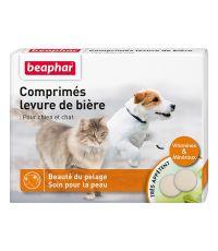 Comprimés x100 levure de bière pour chien et chat - BEAPHAR