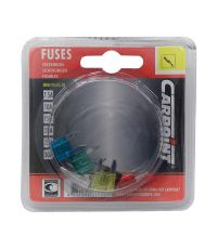 6 fusibles mini assortis - CARPOINT