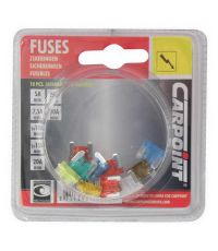 "10 fusibles ""low profile type"" assortis - CARPOINT"