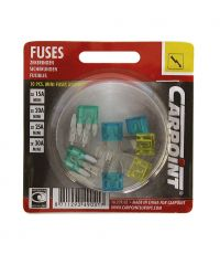 10 mini fusibles assortis - CARPOINT