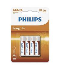 Piles Longlife Micro AAA - PHILIPS