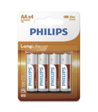 Piles Philips Longlifre LR6 AA - PHILIPS