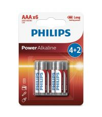 Piles Power Alcaline AA LR3 - PHILIPS
