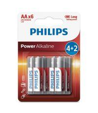 Piles Power Alcaline AAA LR6 - PHILIPS