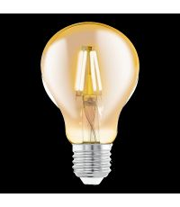 Ampoule Vintage Ambre E27-LED-A75 4W 320 Lumens 2200K - EGLO
