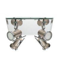 Plafonnier LED salle de bain 4l TAMARA 1 chromé - EGLO