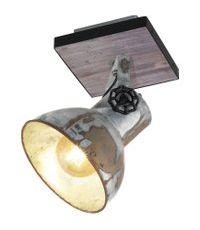 Applique Vintage Barnstaple acier et bois