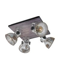 Plafonnier 4 lumières Série Barnastaple EGLO