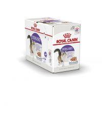 Pâtées Chat Sterilised Mousse 12x85gr - ROYAL CANIN