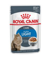 Bouchées Chat Ultra Light Sauce 85g ROYAL CANIN