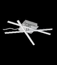 Plafonnier LED LASANA 18W 1890 LM 3000K Chrome - ÉGLO