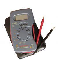 Testeur digital de poche avec cordons intégrés - TIBELEC