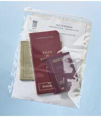 Sachet d'emballage avec fermeture Mottez - Lot de 20