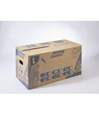 Carton 72L double cannelure fermeture automatique