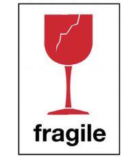 """Etiquette """"Fragile"""" autocollante Mottez"""