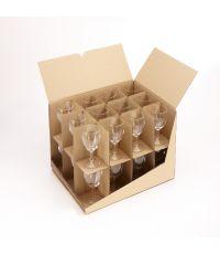 Croisillon range verres pour carton déménagement - MOTTEZ