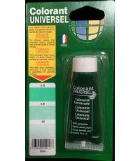 Colorant universel pour peinture coloris vert jaunâtre 25 ml