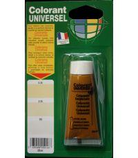 Colorant universel pour peinture coloris oxyde jaune 25 ml