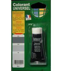 Colorant universel pour peinture coloris noir 25 ml