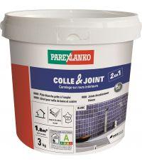 Colle & joint carrelage en pâte blanc 3kg - PAREXLANKO