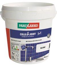 Colle & joint carrelage prêt à l'emploi blanc 1,5kg - PAREXLANKO