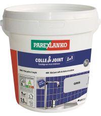 Colle & joint carrelage prêt à l'emploi gris 1,5kg - PAREXLANKO