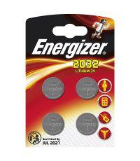 pile cr2032 lithium 3v x4 - ENERGIZER