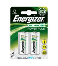 piles c - hr14 rechargeables power plus - 2500mah - ENERGIZER