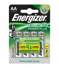 Piles Rechargeables AA HR6 2000mAh x4 Energizer