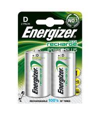 piles d - hr20 rechargeables power plus - 2500mah - ENERGIZER