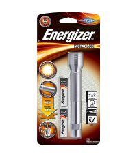 Torche métal LED + 2AA - Energizer