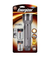 Torche métal LED + 2D 100lm 73m - ENERGIZER