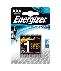 Pile AAA LR03 Energizer Max Plus 1.5V x4