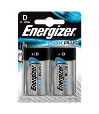 Pile D LR20 Energizer Max Plus 1.5V x2