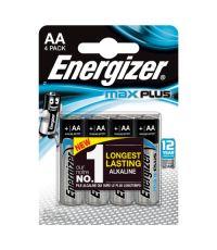 Pile AA LR6 Energizer Max Plus 1.5V x4