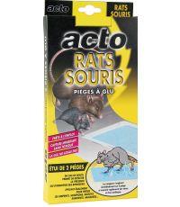 Piège à glu Rats Souris Aromatisés Noisette