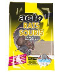 PIEGES A GLU RATS SOURIS SUPPORT BOIS