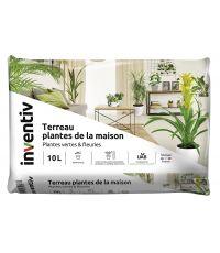 Terreau plantes de la maison 10L - INVENTIV