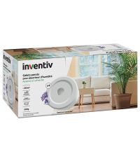 Lot de 4 recharges absorbeur d'humidité galets percés lavande - INVENTIV